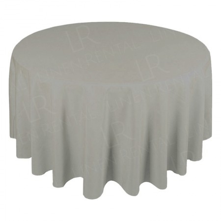 1830mm Round Table Cloth - Dove Grey