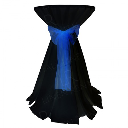 Poseur Table Cover - Black