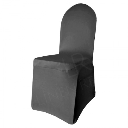 Black Fitted Lycra Chair Cover