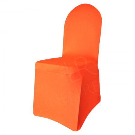 Fitted Chair Cover - Orange