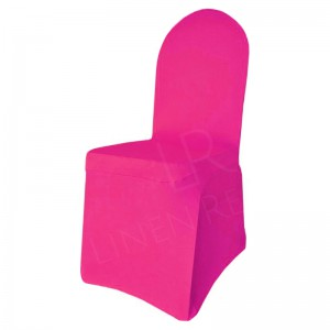 Sunset Pink Fitted Lycra Chair Cover