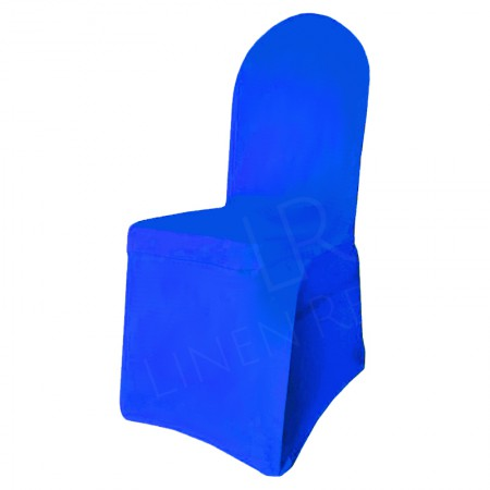 Royal Blue Fitted Lycra Chair Cover