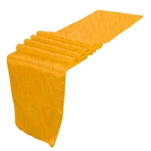 Gold Taffeta Table Runner