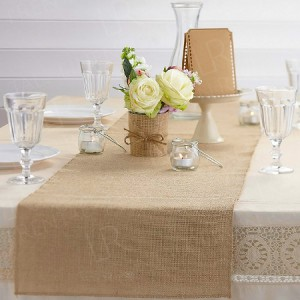 Hessian Table Runner