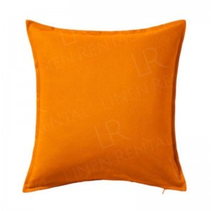 50x50cm Orange Cushion