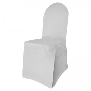 Silver / Dove Grey Fitted Lycra Chair Cover