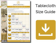 Tablecloth Size Guide Download